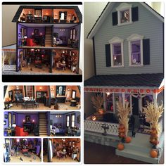 Take a peek at our content for a lot more information on this great dollhouse diy Fete Halloween, Halloween Village, Halloween Doll, Diy Halloween Decorations, Halloween Crafts, Halloween Bedroom, Halloween Poems, Halloween Stuff, Happy Halloween