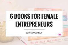 books for female entrepreneurs, business books for women