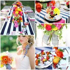summer lake themed wedding   First Row: Annie Edmonds via My Sweet and Saucy   Kelley Cannon Events ...
