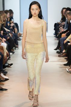 Paco Rabanne Spring 2016 Ready-to-Wear Fashion Show - Jing Wen (Elite)