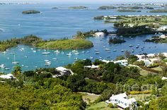 View from Gibb's Hill Lighthouse, Bermuda