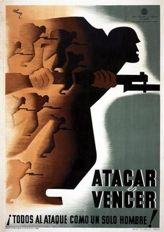 Spain - 1936-39. - GC- poster