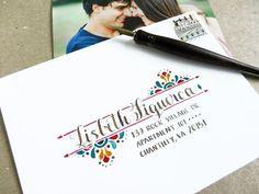 Envelope Lettering, Calligraphy Envelope, Envelope Art, Envelope Design, Mail Art Envelopes, Addressing Envelopes, Letter Addressing, Postman's Knock, Handwritten Letters