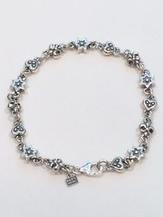 HEART FDL & STAR CHAIN \37,800-      人気モチーフのユリの紋章、六芒星、ハートを順番に連結させたアイテム!  可愛らしいデザインですので、女性へのプレゼントに最適!!!