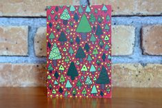 Small Christmas Trees Greeting Card by EllieAndAda on Etsy Small Christmas Trees, Christmas Cards, Christmas Is Coming, Greeting Cards, Etsy Shop, Christmas E Cards, Christmas Card Sayings, Christmas Greetings, Merry Christmas Card