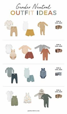 This gender neutral baby capsule wardrobe is minimal but with lots of flexibility to mix and match as well as include colour and pattern! Gender Neutral Baby Clothes, Baby Gender, Foto Newborn, Minimalist Baby, Unisex Baby Clothes, Amazon Baby Clothes, Baby Boy Fashion Clothes, Baby Kind, Baby Baby