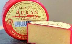 Oak Smoked Isle of Arran cheese Luke Scottish Cheese, British Cheese, Scottish Dishes, Fish And Chip Shop, Isle Of Arran, Queso Cheese, European Cuisine, Cheese Shop, Pudding Desserts