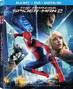 """The web is crawling with today's exciting news: The Amazing Spider-Man 2 arrives on Blu-ray August 19th with 13 Deleted Scenes including """"Peter Meets His Father."""""""