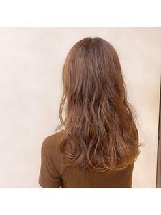 春におススメ!ベージュカラーで透明感☆ Long Hair Styles, Beauty, Long Hairstyle, Long Haircuts, Long Hair Cuts, Beauty Illustration, Long Hairstyles, Long Hair Dos