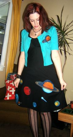 Craft, Thrift, or Die: Here's a Planet Dress My blog, just tryin' to get clicks :)