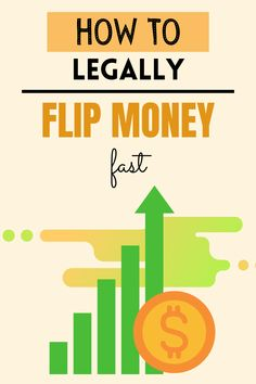 Do you want to turn your money into more money? Click through for these easy side hustles to learn how to turn money into more money by flipping cash. These are the best ways to flip money quickly. Make money | side hustle ideas | make extra cash | make more money | earn extra cash How To Flip Money, Make More Money, Earn Money, Earn Extra Cash, Making Extra Cash, Flipping Money, Flip Cash, Retail Arbitrage, Safe Investments