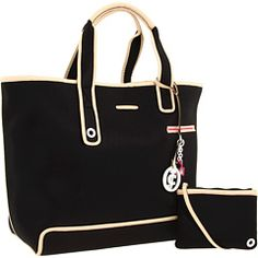 Juicy Couture - Nora Large Tote. Made from Neoprene, perfect for summer