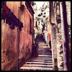 Per le vie di Monterosso, Liguria
