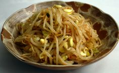 kongnamulmuchim - bean sprout side dish