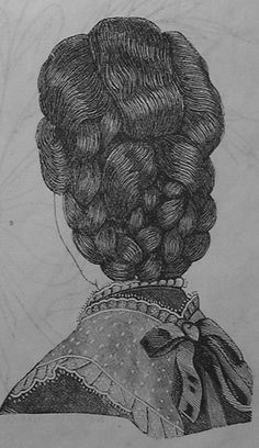 Splendid Style 18 Back view The post Style 18 Back view appeared first on 99 Hairstyles . Historical Hairstyles, Edwardian Hairstyles, Modern Hairstyles, Vintage Hairstyles, Female Hairstyles, Musical Hair, Victorian Gown, Beautiful Long Hair, Vintage Glamour