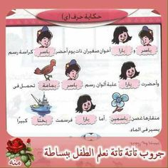 Grade 1, First Grade, Arabic Alphabet Letters, Arabic Language, Learning Arabic, Ramadan, Homework, Worksheets, Teacher