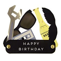 Multi-tool Birthday Card