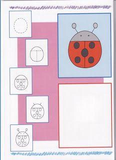 Hoe teken ik een lieveheersbeestje / PEIXINHOS NO SOTÃO: Kids