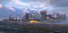 ArtStation - battle ground, youngtaek oh