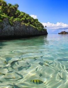 Isla Roatan en Honduras.