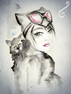 Catwoman by taaisf art. I realize its not a tattoo but no where else to put it so what can you do? :P