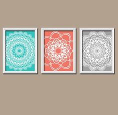 mandalas croch bathroom wall artwall
