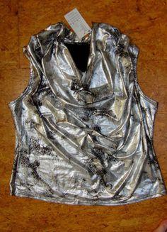 Kupuj mé předměty na #vinted http://www.vinted.cz/damske-obleceni/topy-and-tank-topy-bez-rukavu/9191398-spolecensky-top-tunika-nove-vel-50