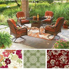 Better Homes And Gardens Outdoor Cushions Black Bar Stools Set