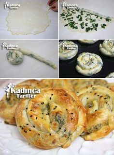 El Açması Gül Böreği Tarifi – Kadınca Tarifler – Kurabiye – Las recetas más prácticas y fáciles Greek Cooking, Cooking Time, Bakery Recipes, Cooking Recipes, Breakfast Items, Breakfast Recipes, Turkish Recipes, Italian Recipes, Vegan Meal Prep