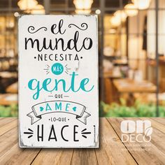 Cuadros con frases Some Quotes, Words Quotes, Vintage Frases, Wall Quotes, Motivational Quotes, Albert Schweitzer, Wood Signs, Hand Lettering, Decoupage