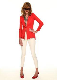 Stil Aşkı: Kırmızı ve Beyaz Buluşması Tayt Markafoni'de 79,99 TL yerine 39,99 TL! Satın almak için: http://www.markafoni.com/product/4733726/ #summer #fashion #dress #moda #elbise #girl #model #fashion #red #kırmızı #white #beyaz