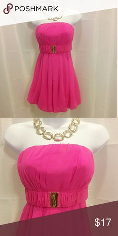 Barbie Pink baby doll dress *Worn Once *Charolett Russe  *Practically brand new with out tags *Baby doll style *Size Small  *Does not come with the necklace Charlotte Russe Dresses Mini