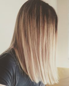 Balayage, longbob ❤️ The perfect hairstyle for summer