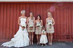 Gorgeous rustic-chic wedding.