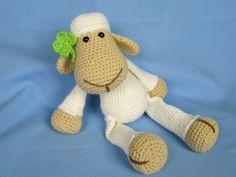 My Friend Sheep / Lamb Lucy  Amigurumi Crochet door DioneDesign, €4,00
