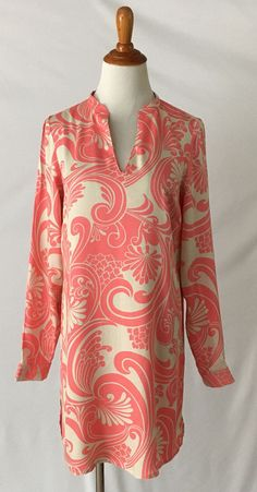 New Boden V-Neck Long SLeeve Tunic Dress sz US 6 UK10 NWT #Boden #Tunic #Casual
