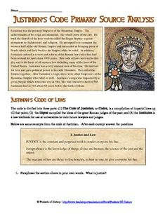 an analysis of the topic of the justinian code Introduction this demo will cover the basics of clustering, topic modeling, and classifying documents in r using both unsupervised and supervised machine learning techniques.