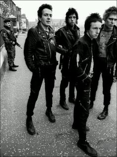 The Clash/ Punk/ 70's British Punk/ Main Music Band/ Punk Fashion