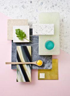 Weekly material mood 〰 Jungle-striped Acetate & Jade glass brick #acetate…