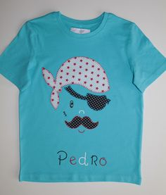 cocodrilova: camiseta pirata para pedro  #camiseta #pirata Pinterest T Shirt, Carters Baby Boys, Kids Wear, Kids Outfits, T Shirts For Women, Embroidery, Sewing, Crochet, Mens Tops
