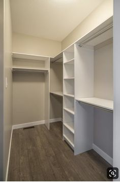 99 Impressive Walk In Closet Organization Ideas Walk in closets come in a different variety of designs. They were designed to keep folded clothing, ties, belts, shoes … organization ideas master shoes 99 Impressive Walk In Closet Organization Ideas Small Master Closet, Master Closet Design, Walk In Closet Design, Master Bedroom Closet, Small Closets, Closet Designs, Master Bedrooms, Small Walk In Closet Ideas, Master Suite