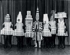 Bauhaus costumes 1925 - Oskar Schlemmer