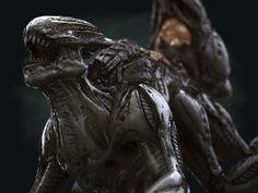 3D alien mutant creature hd