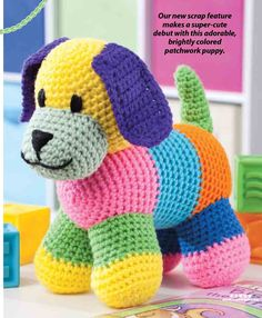 Patchwork Puppy
