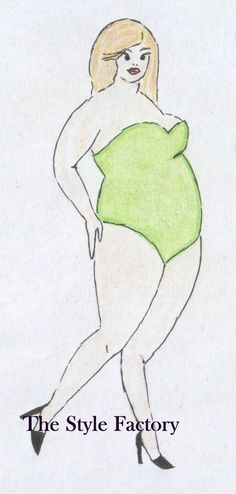 Body Type O (apple) Plus Size // thestylefactory.pl //