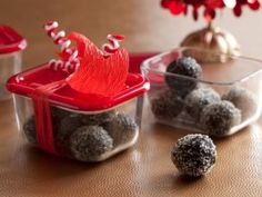 Cooking Channel serves up this Spiked Date and Fudge Balls recipe plus many other recipes at CookingChannelTV.com