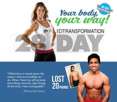 IDLife | IDTransformation Jen Widerstrom is going to take you to your next goal!! 28 day challenge with IDLife