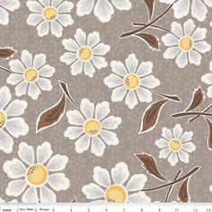 Daisy Cottage Lori Holt Fabric From Riley Blake by thestockroom