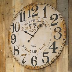 Thanks Brett for pinning our Old Town Clock to your Home Office Pinterest board!