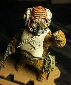 "Star Wars Custom 1 18 Scale Ewok Rebel Pilot ""Kettch"" Wraith Squadron | eBay"